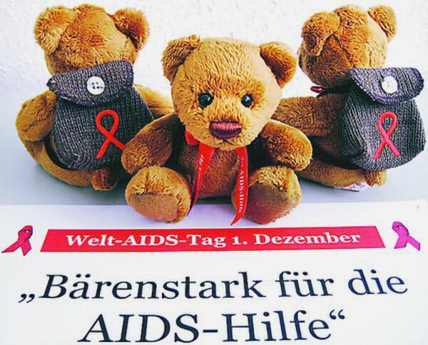 Die süßen Teddys zum Welt-AIDS-Tag