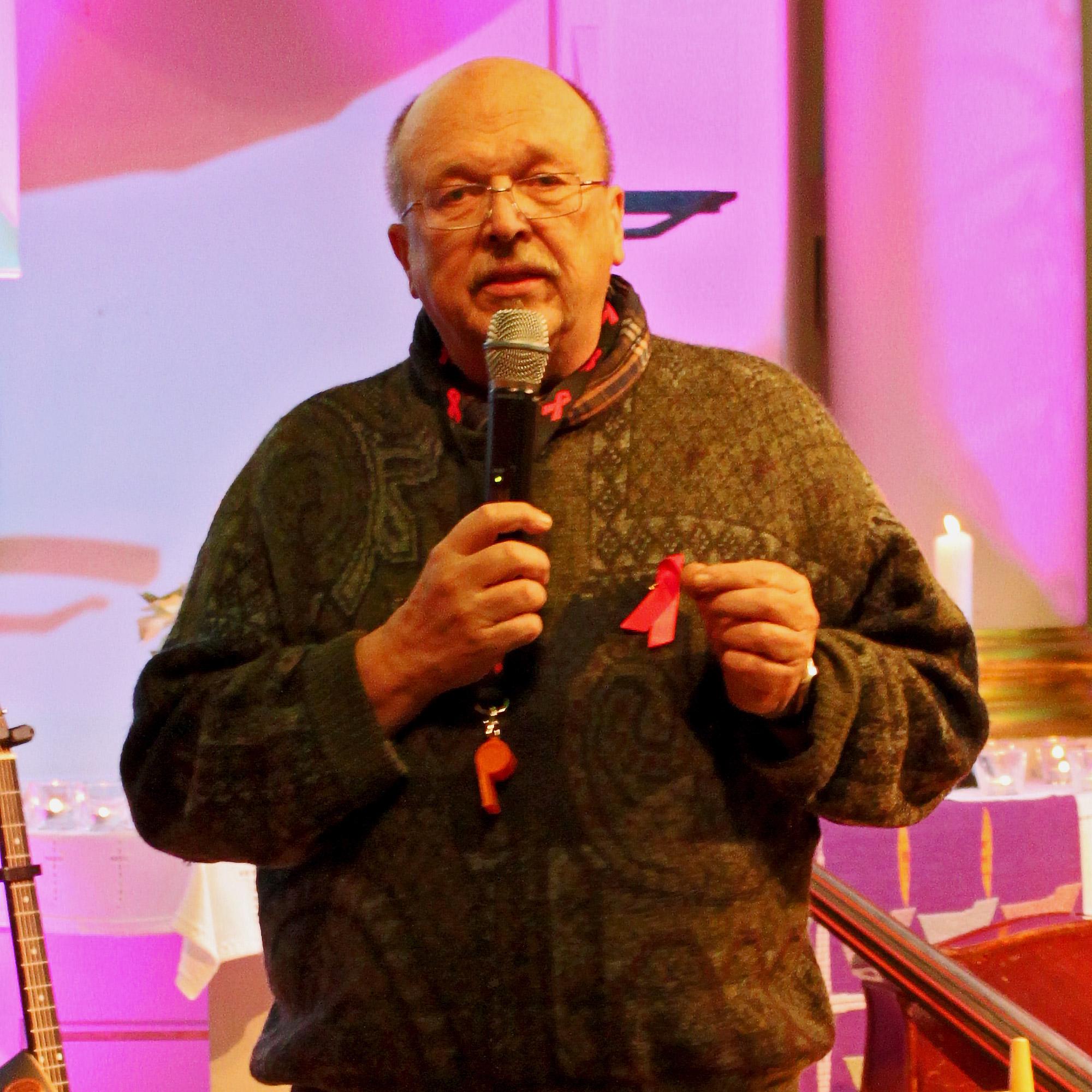 Peter Müller ist seit 2014 für die Öffentlichkeitsarbeit der Aidshilfe im Märkischen Kreis zuständig