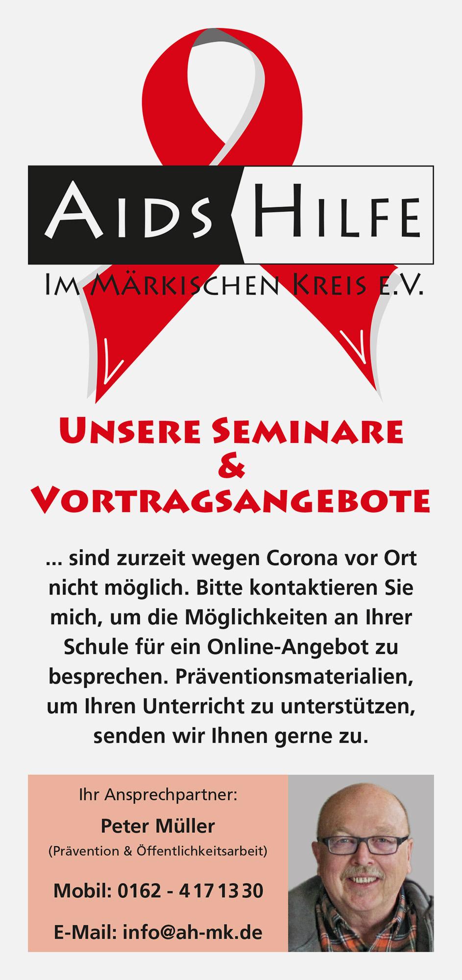 Der aktuelle Info-Flyer für unsere Seminare und Vortragsangebote