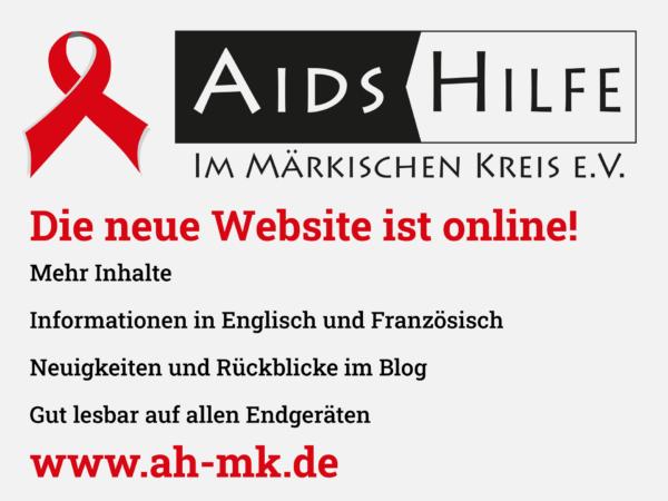 Webbanner mit Hinweis auf die neue Website